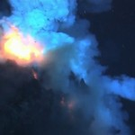 {Photo: Discovery News and NOAA: West Mata Volcano vent, eruption}