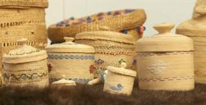 Photo: Wonder Visions: Alutiiq basket group
