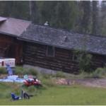 permafrost tilted house