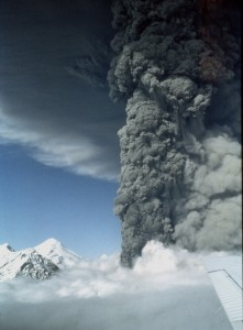 Spurr volcano eruption 1992