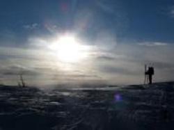 Arctic snow cover low