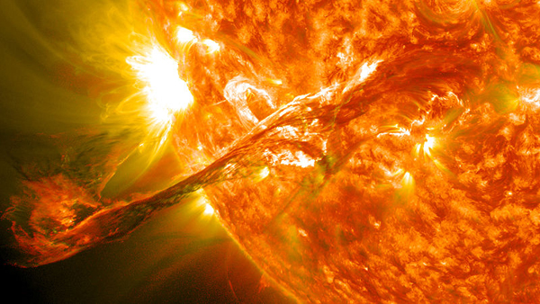 Coronal Mass Ejection solar Sun magnetosphere space weather