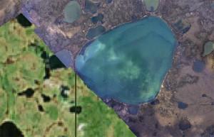 alaska satellite map comparison