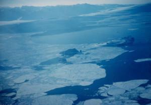 Antarctic pancake ice