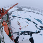 Icebreaker Snow Dragon Arctic research