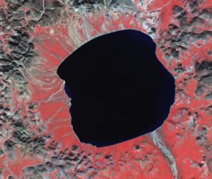 Lake El'gygytgyn satellite space Russia