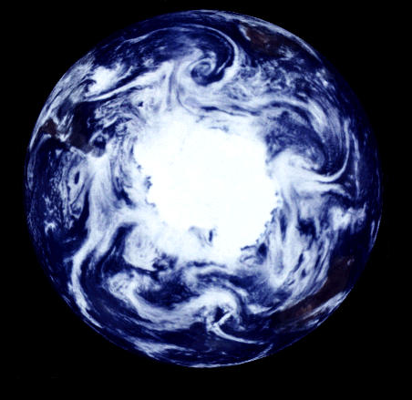 Antarctic atmospheric circulation