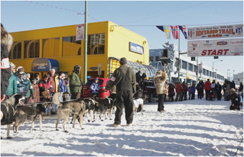 Iditarod Ceremonial Start
