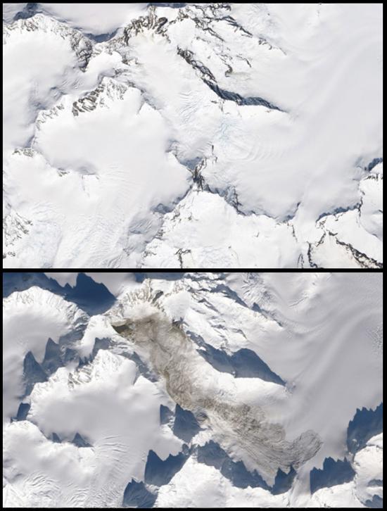 La Perouse Landslide comparision 2014