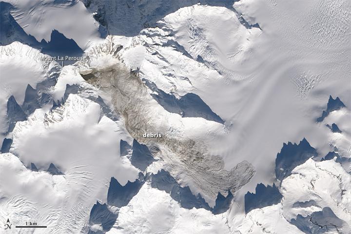 La Perouse Landslide debris 2014