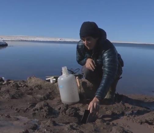 thermokarst sample scientist wolverine lake
