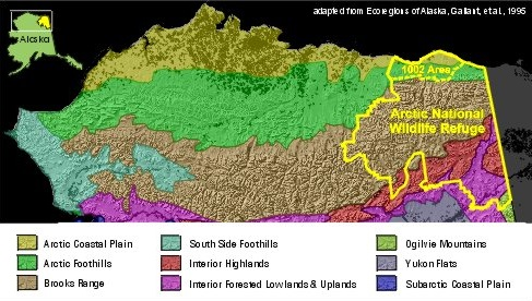 Alaska eco regions