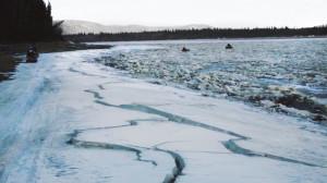 river ice Alaska