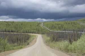 Dalton Highway Trans Alaska Pipeline.