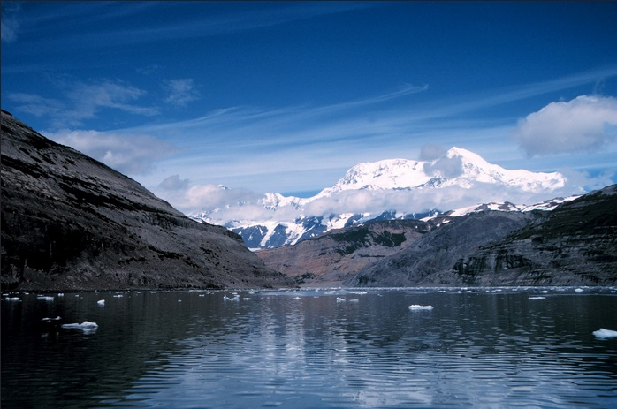 Mount St. Elias Icy Bay Alaska