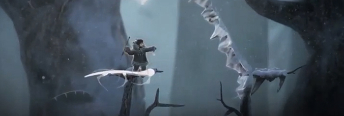 Never Alone: Nuna's magical bola can clear the way forward / Image E-Line Media & Upper One Games