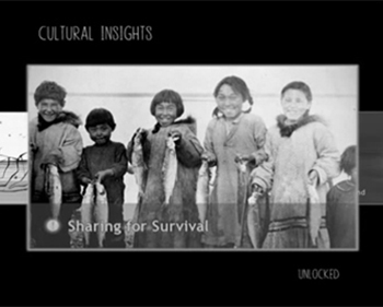 Never Alone: unlock Cultural Insights, short videos to further illuminate Native culture / Image E-Line Media & Upper One Games