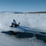 Arctic water sampling spring