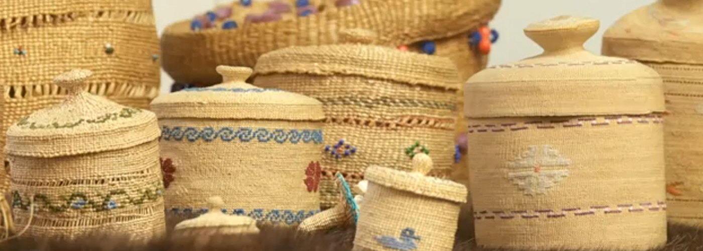 Weaving: an exhibition of skill and beauty