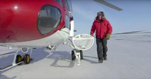 Sea Ice Buoys Testing Tracking Ice Oil Spills