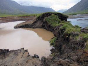 Permafrost thawing in Gates of the Arctic National Park / Courtesy National Park System