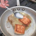 Salmon Chef at Anchorage Museum in Urban Harvest Program